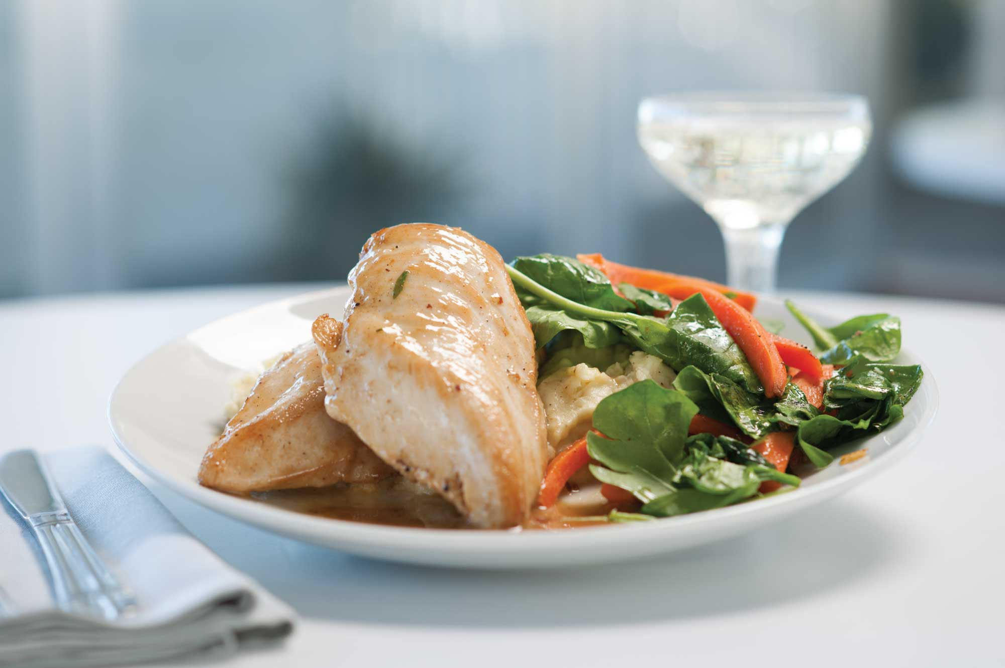 Clippership Chicken with Charles Smith Secco